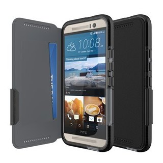 UK Tech 21 Super Evo Wallet HTC One M9 impact crash protection soft leather (5055517344470)