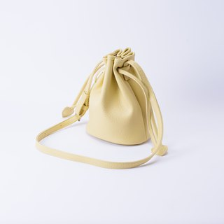Candy Bundle Small Bucket Bag Portable Shoulder Dual-use Cream / Beige