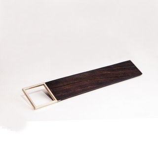 [Hylé design Macau] SIMPLE 90 ° RULER ebony X-nickel alloy Squares