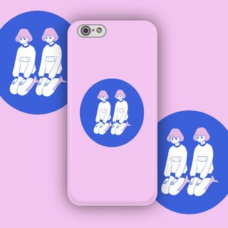 ▷ Umade ◀ PE lazy Raiders [iPhone7 (i7, i7plus, i6, i6s, i6plus, i6splus, i5se, i5s, i5c) / Android (Samsung, Samsung, HTC, Sony) Phone Case / Accessories - matte hard shell - Artist creation] Huang Wei Shan