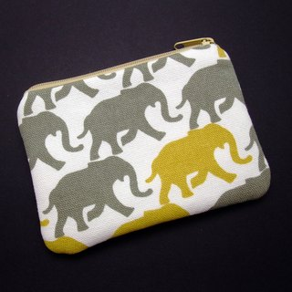 Zipper pouch / coin purse (padded) (ZS-164)
