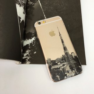 Tokyo View Tokyo Tower Print Soft / Hard Case for iPhone X,  iPhone 8,  iPhone 8 Plus, iPhone 7 case, iPhone 7 Plus case, iPhone 6/6S, iPhone 6/6S Plus, Samsung Galaxy Note 7 case, Note 5 case, S7 Edge case, S7 case