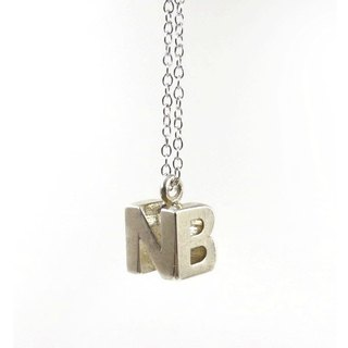 Customized jewelry necklace - three-dimensional printing x MonoMingle Pendant x Personalized