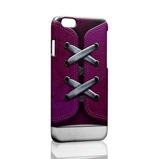 Purple shoes custom iPhone X 8 7 6s Plus 5s Samsung note S9 phone shell