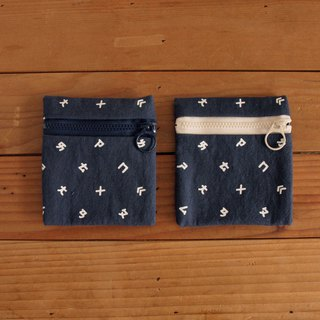 【HEYSUN】Taiwanese Secret Language / Bopomofo Printed Coin Purse