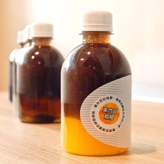 Black fungus orange │ exclusive Taiwan exclusive, creative hand-drinking beverage (black fungus dew + orange juice)