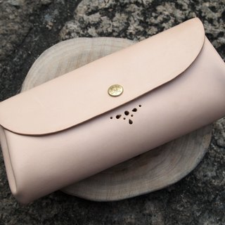 Vegetable tanned leather clutch three elegant Elegant Leather Clutch
