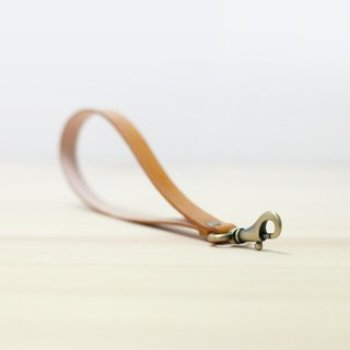 LION's Handmade Leather -- Lanyard (Short )