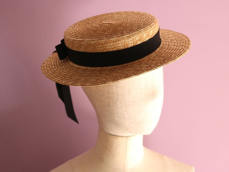 6b4d2cc753e35d Straw Boater Hat