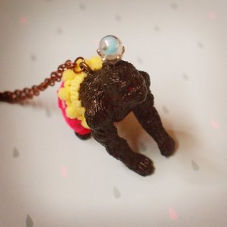 Magnificent adventure - gorilla necklace