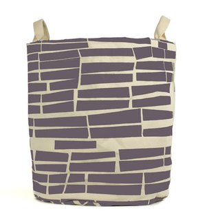 Canadian fluf small brick portable storage dual-use bags (large) - Hawthorn purple
