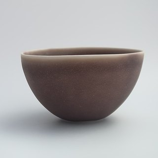 coco#2 blackish red (porcelain small salad bowl)