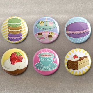 Delicious Dim Sum - Magnet (6 in) / Badge (6 in) / Birthday Gift [Special U Design]