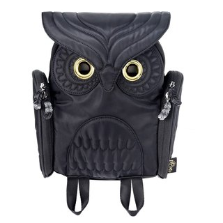 Morn Creations Genuine Classic Owl Backpack - Kids (OW-303)