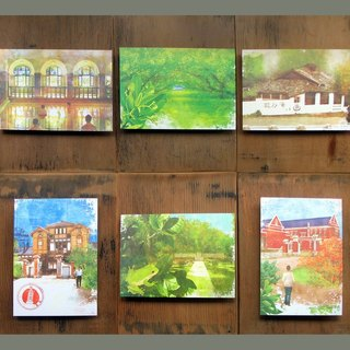 Small picture postcards combination