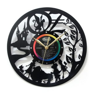 [Time traveler 1888] vinyl clock. The Wonderful Wizard of Oz