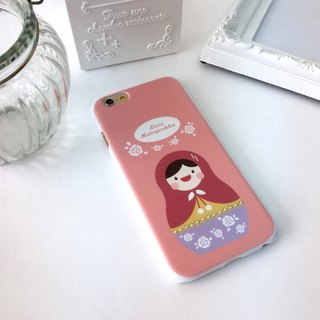 Luxury Pink Rose Matryoshka Print Soft / Hard Case for iPhone X,  iPhone 8,  iPhone 8 Plus,  iPhone 7 case, iPhone 7 Plus case, iPhone 6/6S, iPhone 6/6S Plus, Samsung Galaxy Note 7 case, Note 5 case, S7 Edge case, S7 case