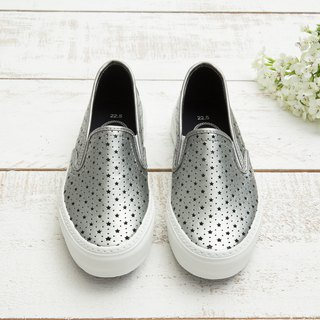 Emerson Silver Starry Breathable Slip-On Casual Shoes (Adult)