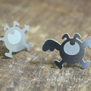 【Peej】'Fly, Fly, Fly' Stainless Steel Earrings