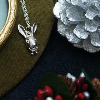 GT Rabbit silver necklace