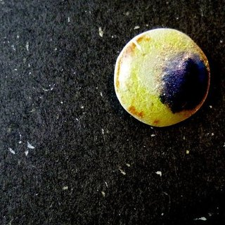 Crescent Moon // Enamel on 999 Fine Silver Pendant