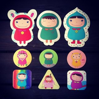 Fion KO: la petite mumu Group Limited Sticker