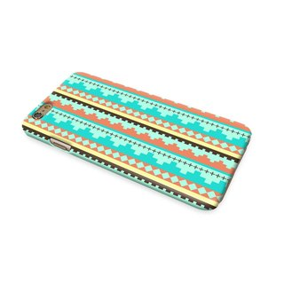 Mint Navajo Tribal Pattern 59 3D Full Wrap Phone Case, available for  iPhone 7, iPhone 7 Plus, iPhone 6s, iPhone 6s Plus, iPhone 5/5s, iPhone 5c, iPhone 4/4s, Samsung Galaxy S7, S7 Edge, S6 Edge Plus, S6, S6 Edge, S5 S4 S3  Samsung Galaxy Note 5, Note 4, N