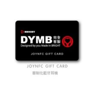 BRIGHT DYMB JOY Bluetooth headset gift card