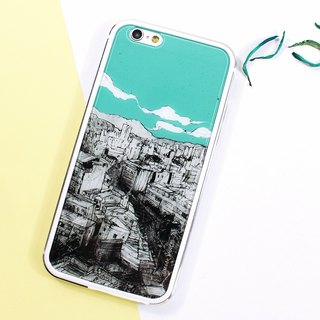 Room-Urban [iPhone case /Accessories-(i6plus, i6splus, i6+)-Can be changed back plate-TPU metal double layer thin glossy hard shell-Gift-boy-girl-