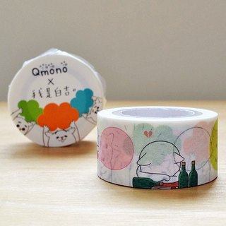 Qmono x I am Baiji Lianzhi Paper Tape vol.2 [Baiji has something to say (QMT-JI09)]