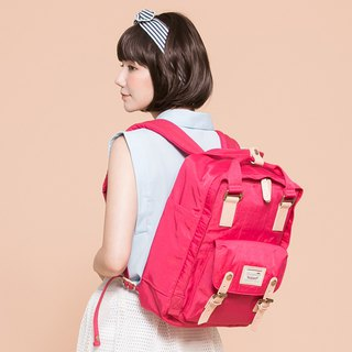 Doughnut Waterproof Macaron Backpack - Cranberry