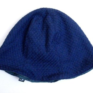 MaryWil The double side bud hat-Pique (Blue)