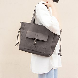 Lightweight Casual Roomy Briefcase in Canvas/Up to A4/Available in 7 colors