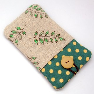 iPhone sleeve, iPhone pouch, Samsung Galaxy S8, Galaxy Note 8, cell phone, ipod classic touch sleeve (P-32)