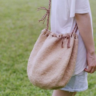 Big buns bunched bucket bag