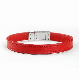 [Leather rope] eternal leather leather collar ((send lettering))
