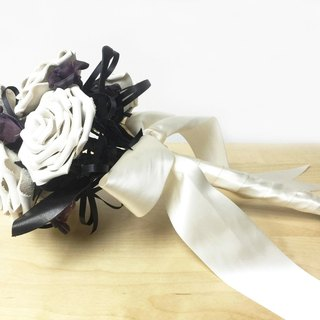Leather Rose Bouquet