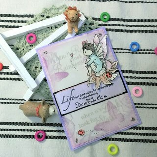 Handmade cards - Fairy Series - Prayer (universal card / greeting card)