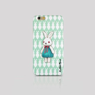 (Rabbit Mint) Mint Rabbit Phone Case - Bu Mali Merry Boo - iPhone 6 (M0015)