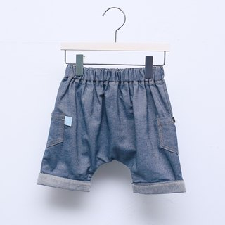 My little star Organic Cotton Tannin Pants_Dark Blue