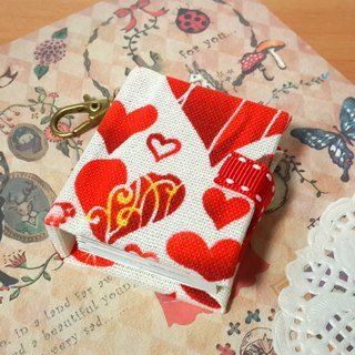 [Sparkling love] mini small phase key ring 5cmX4.3cm - custom small things