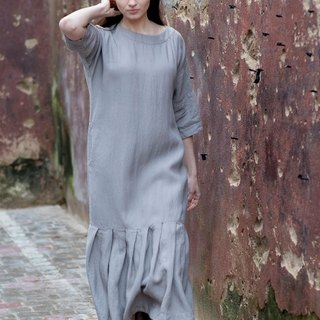 Linen Dress Motumo 16S14