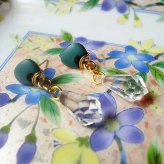 Time Travel【handmade earrings:Midsummer Night's Dream】