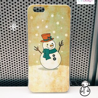 Love snowman pattern custom iPhone X 8 7 6s Plus 5s Samsung note S7 S8 S9 plus HTC LG Sony mobile phone case mobile phone sets
