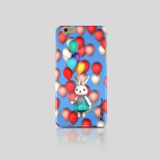 (Rabbit Mint) iPhone 6 Case - Merry Boo Balloon (M0008)