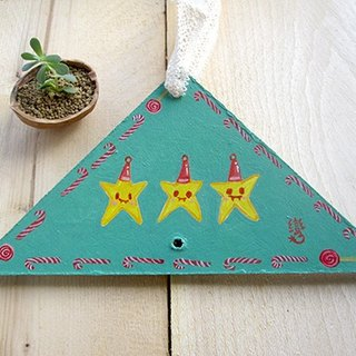 Hand-painted Christmas ornaments - Little Star