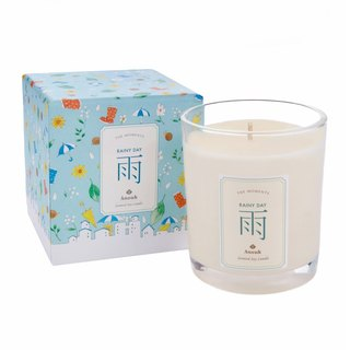 Rain. Aromatherapy Soy Candles RAINY DAY Scented Soy Candle