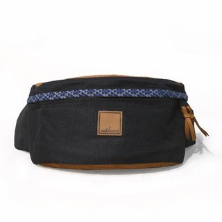 Matchwood Design Matchwood Handy Waist Side Backpack Messenger Bag Chest Blue Totem