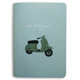 Notebook Scooter-GREEN