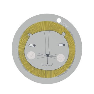 Lion Lion Rubber Placemat | OYOY